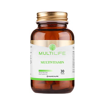 Multilife Mutivitamin 30 Kapsül