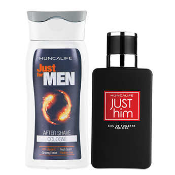 Just Him Erkek EDT 60 ml + Just for MEN Kolonya 200 ml