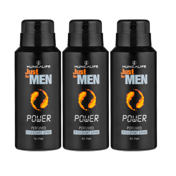 3 Adet Just For Men Spray Deodorant 85ml